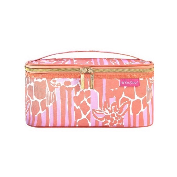 Lilly Pulitzer for Target Giraffe Cosmetic Bag NWT